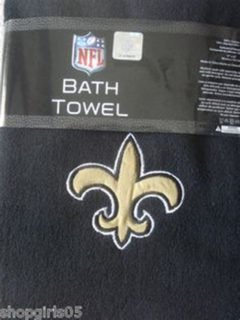 saints bathroom set saints bathroom on pinterest new orleans saints nfl and