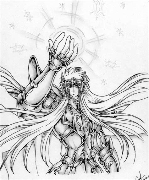 mis dibujos de saint seiya taringa