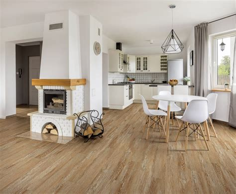 COREtec ONE Bruges Oak Engineered Vinyl Plank 6.3mm x 6 x
