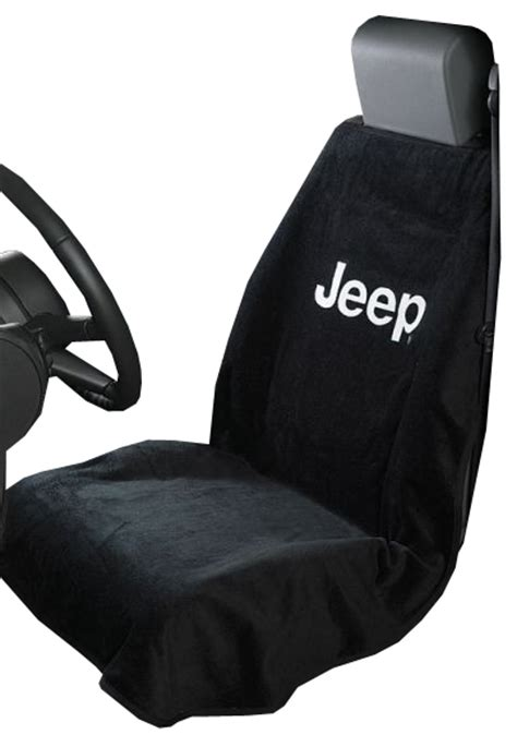 Jeep Seat Towels All Things Jeep Jeep Logo Seat Towels By Seat Armour