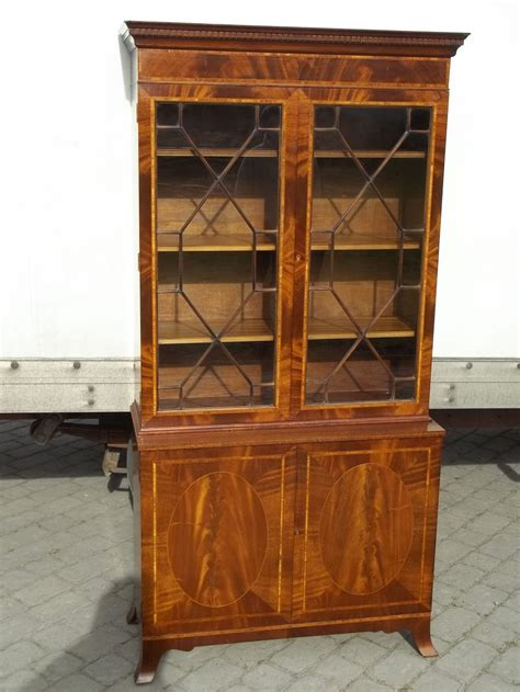 Antique Bookcase by Antiques Atlas Antique Mahogany Bookcase Cupboard