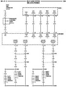 2000 dodge dakota wiring diagram radio 2000 dodge free wiring diagrams