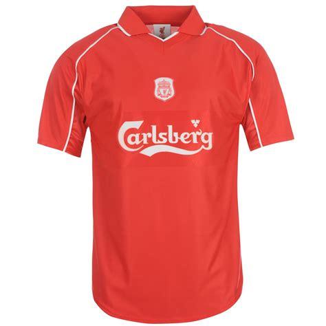 Jersey Retro Liverpool 93 liverpool fc 2000 home jersey white score draw soccer football ebay