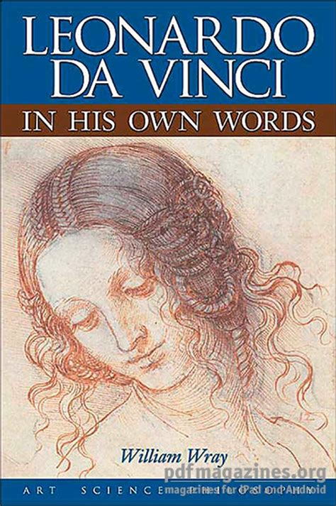 leonardo da vinci biography book pdf leonardo da vinci in his own words 187 pdf magazines archive