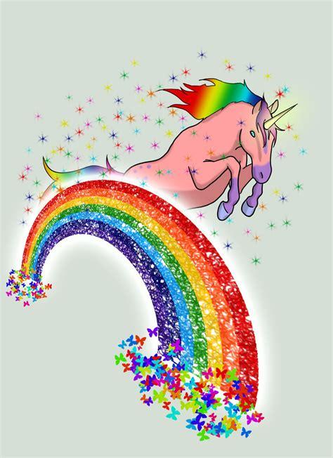 unicorn rainbow 1000 images about unicorns rainbows and shitting glitter