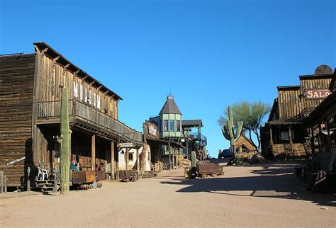 best towns in list of ghost towns in arizona