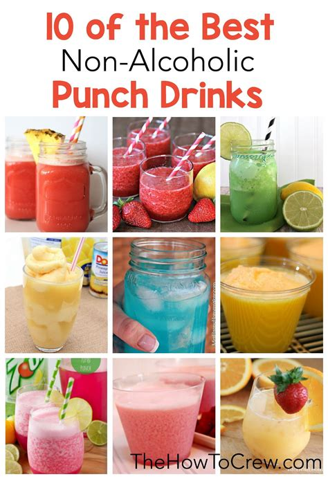 best punch 10 of the best non alcoholic punch drinks on thehowtocrew