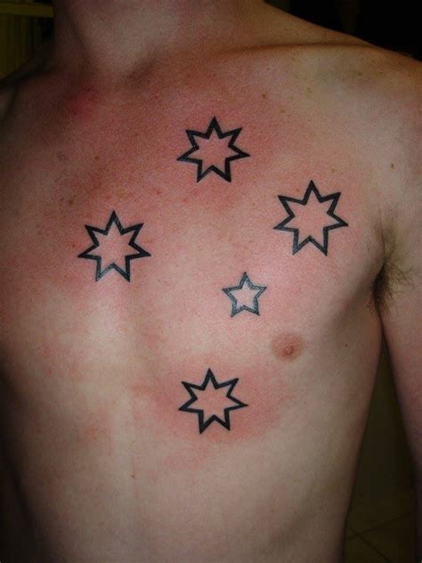southern cross tattoo by clinton osborne of eternal tattoo