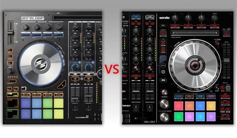 best serato controller best 4 channel serato dj controller reloop mixon 4 versus