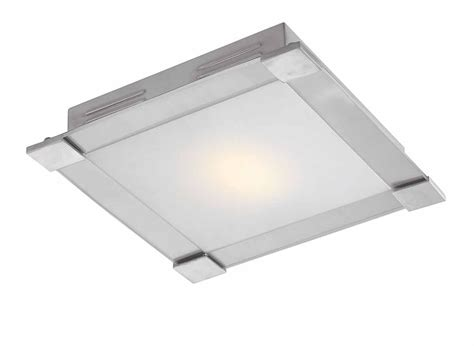 Square Flush Mount Ceiling Light Access Lighting 50058 Bs Opl Carbon Square Contemporary Flush Mount Ceiling Light Small Ac