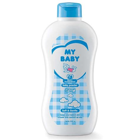 Bedak My Baby my baby powder soft gentle 250gr medanmart