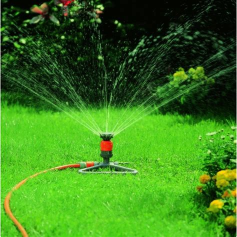 Backyard Irrigation by Maintain A Healthy Green Space Follow Green Living