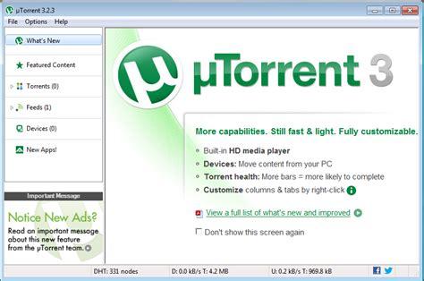 utorrent full version software free download utorrent 3 2 3 downloader final full version free download