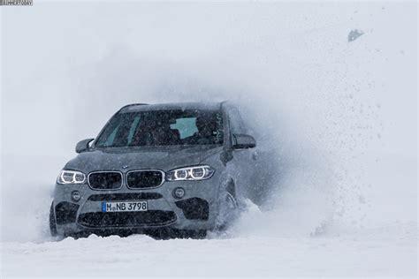 Bmw 1er Im Winter by Bmw X5 M F85 Neue Fotos Zeigen Power Suv Im Schnee