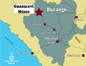 Durango Mexico Map by Endeavour Silver Maps Amp Sections