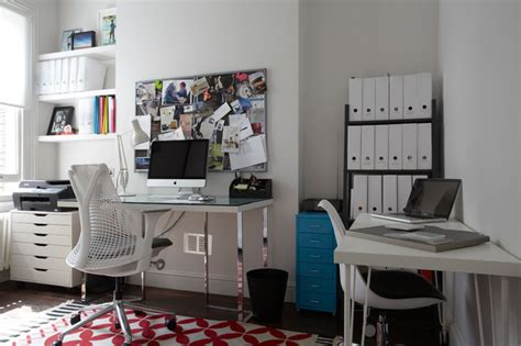 family home office clapham family home contemporary home office london