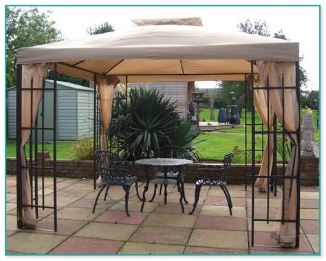 metal gazebo with curtains steel frame gazebo with curtains