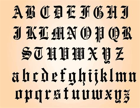draw old english letters hyspd letters drawing at getdrawings free for