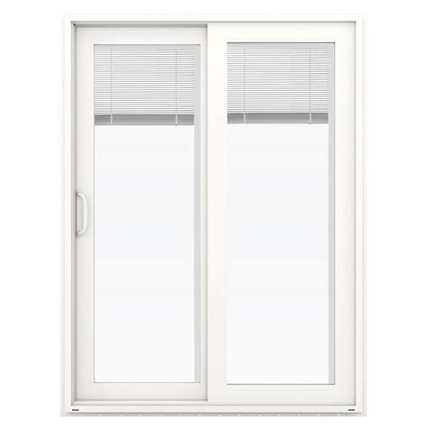 60 Sliding Patio Door by Jeld Wen 60 In X 80 In V 4500 White Prehung Right