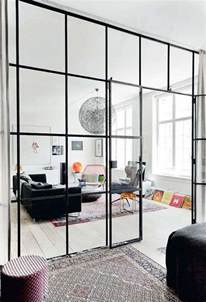 Glass Room Divider Industrial Views The Potted Boxwood