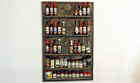 Sauce For Rack by Spice Sauce Rack From A Pallet All