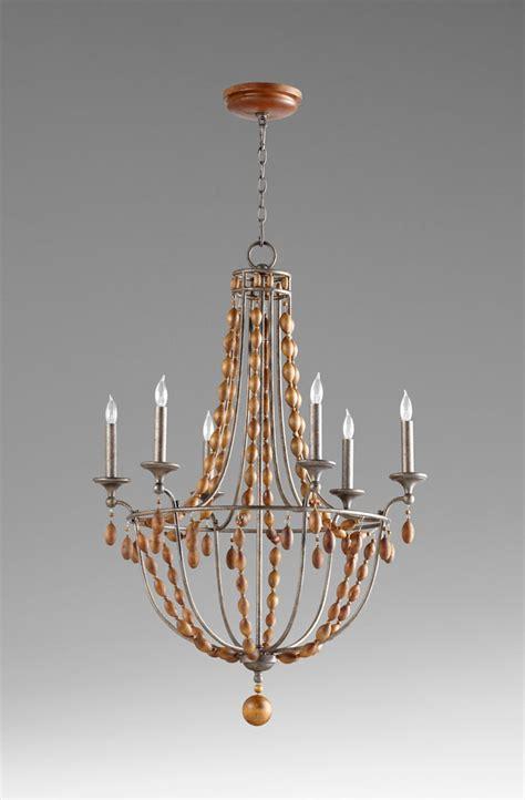 Cyan Design Chandeliers Middleton 6 Light Bronze Chandelier By Cyan Design