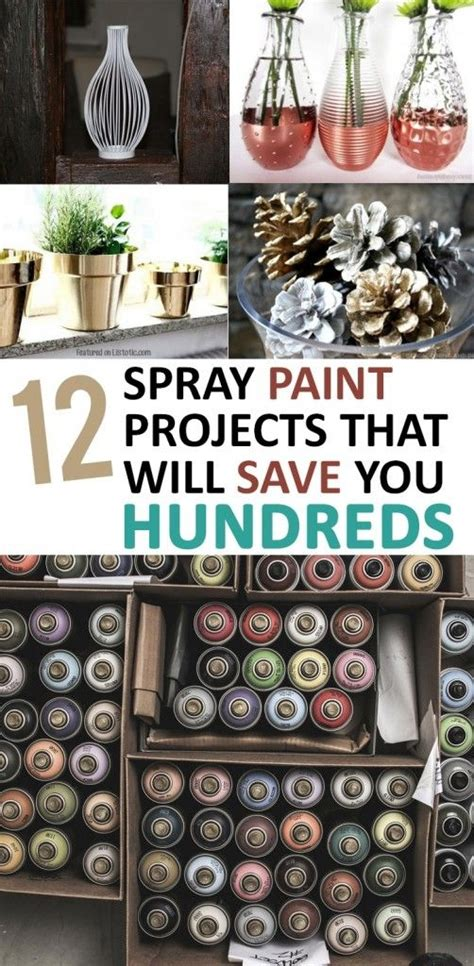 spray paint hacks spray paint projects diy projects diy home decor