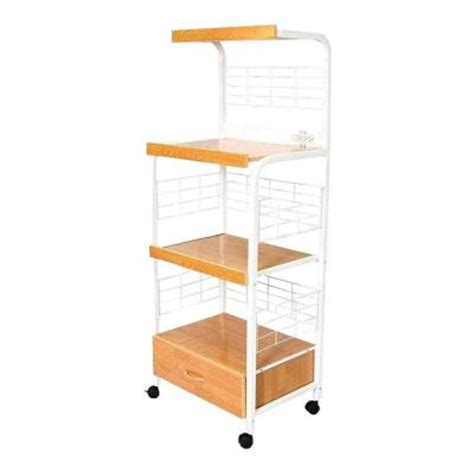 17 in microwave utility cart g571wh the home depot