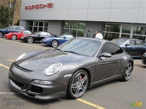 porsche slate grey 2007 porsche 911 carrera 4s coupe in slate grey metallic