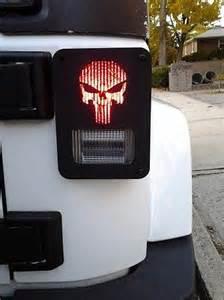 Light Covers Jeep Wrangler Jeep Wrangler Jk Decorative Punisher Metal Light