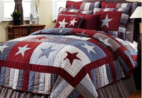 stars bedding blue and red star bedding fix er up pinterest