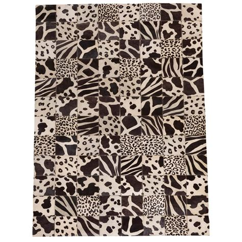 Patchwork Cowhide Leather Rugs Buy Patchwork Leather Cowhide Rug Sgp2015 120x180cm
