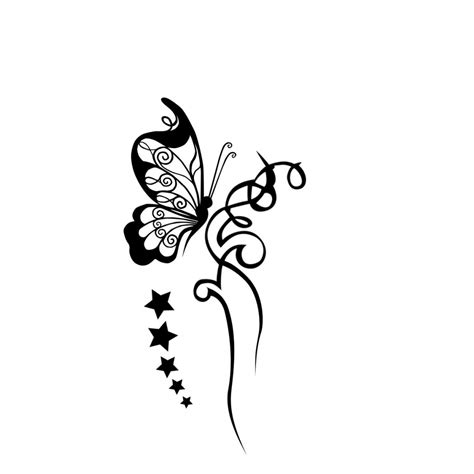 black and white butterfly tattoo designs free black and white tattoos free clip free