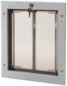 Doggie Door Plexidor Large Dog Door Unit Satin Ebay