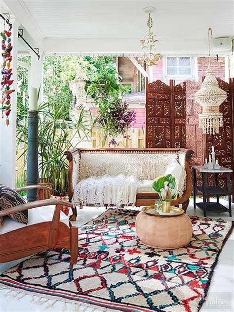 boho chic home decor 25 best ideas about bohemian patio on cozy