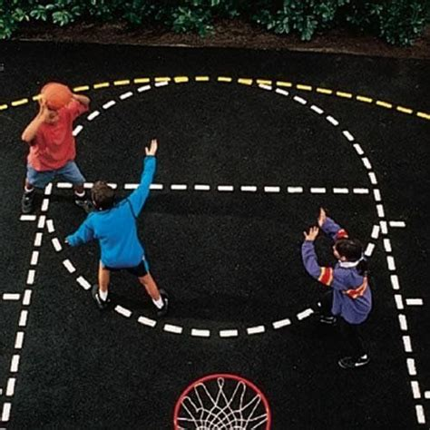 design your own basketball court basketball court stencil by ursa major 20 00 create