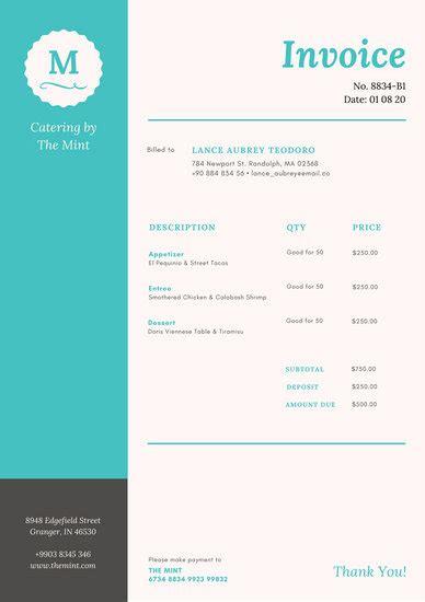 Invoice Letterhead Invoice Templates Canva