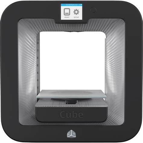 Printer 3d Cube 3d systems cube 3 printer grey 391100 b h photo