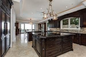 Kitchen Design With Dark Cabinets 35 luxury kitchens with dark cabinets design ideas