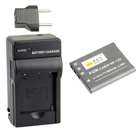 Charger Casio Exilim dste np 120 battery charger for casio exilim ex s200 ex