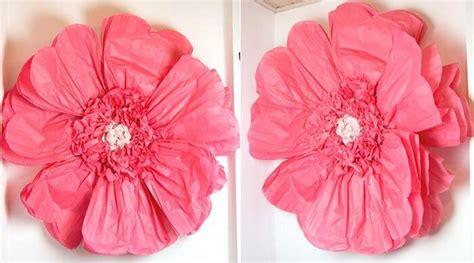 Blumen Aus Servietten Basteln by Diy Riesen Papierblumen Basteln Hochzeitsportal24