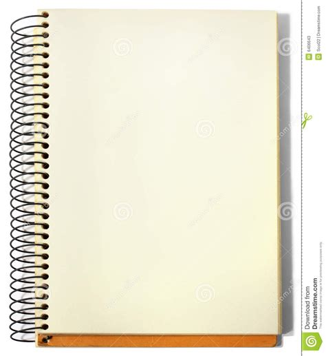 sketch book where to buy spiral sketchbook stock image image of clean note book