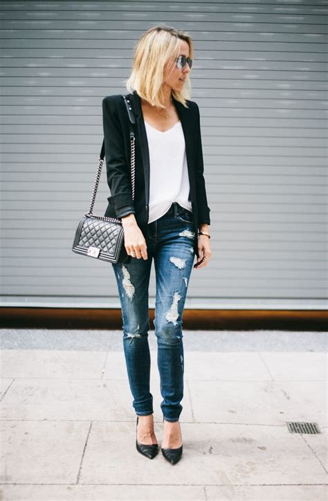 Sheer Plain Blazer In Black 20 ways to wear plain black blazers for 2018