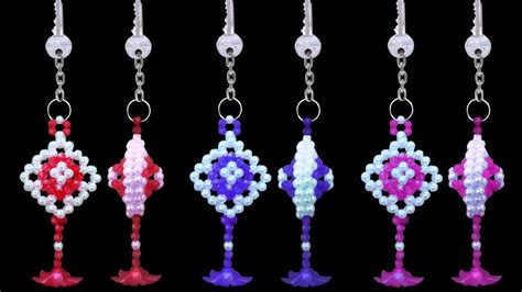 bead at home how to make a keychain at home diy beaded