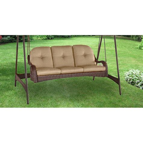 three person swing cushion replacement replacement cushion for azalea ridge three person swing