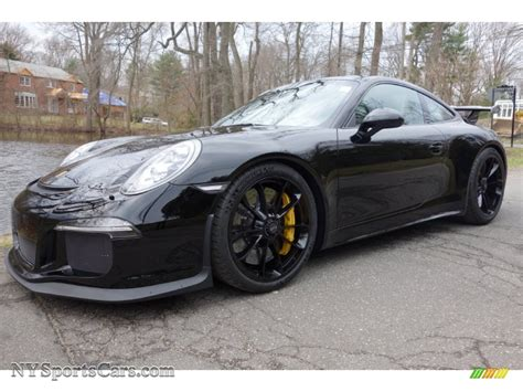 black porsche gt3 2015 porsche 911 gt3 in black photo 6 183662