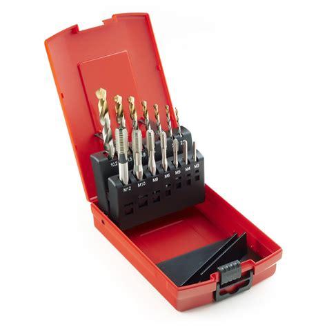 Dormer Drills Australia Dormer A002 Drills And E500 Hss Mc Tap Set 14