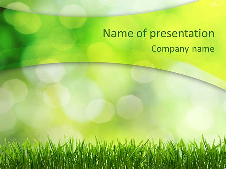 green themes for powerpoint 2007 fresh green grass plantillas de presentaciones powerpoint