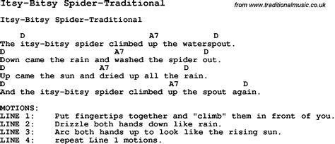 row your boat hand motions itsy bitsy spider lyrics www pixshark images