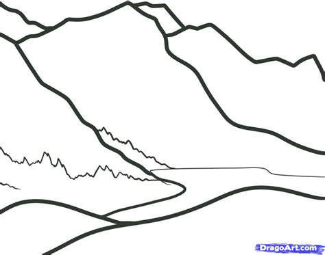 simple landscape drawing for kids how to draw a landscape